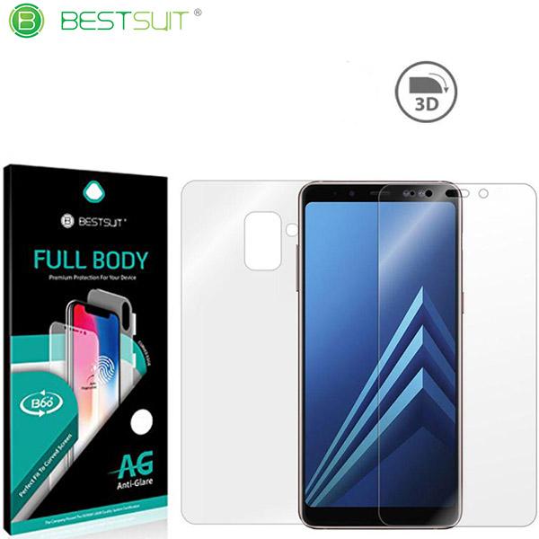 محافظ نانو مات 360 درجه Anti-Glare Full Body مارک BestSuit مناسب Samsung Galaxy A8 2018 / A530F