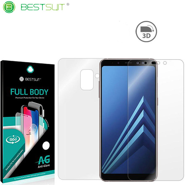 محافظ نانو مات 360 درجه Anti-Glare Full Body مارک BestSuit مناسب Samsung Galaxy A8 Plus 2018 / A730F