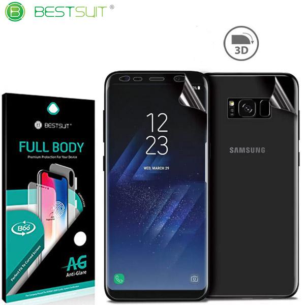 محافظ نانو مات 360 درجه Anti-Glare Full Body مارک BestSuit مناسب Samsung Galaxy S8