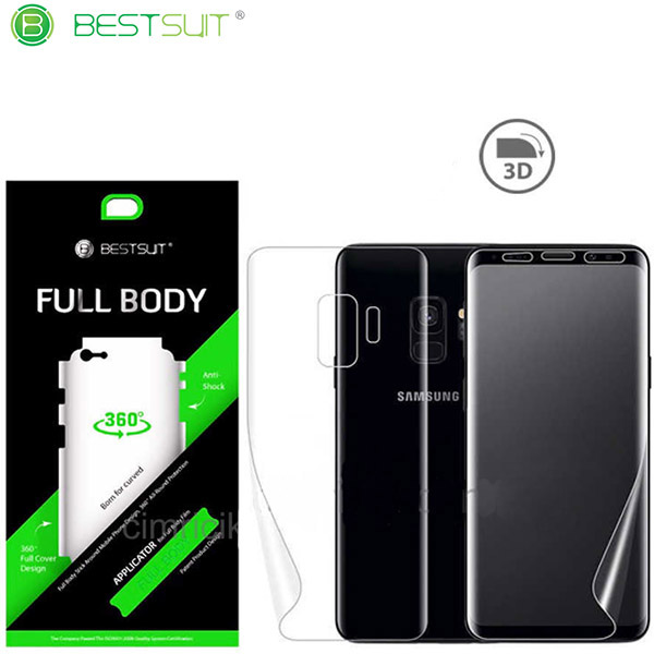 محافظ نانو 360 درجه Full Body مارک BestSuit مناسب Samsung Galaxy A8 Plus 2018 / A730F