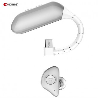 هندزفری بلوتوث مینی همراه باتری بک آپ Comma Cochleae Bluetooth Headset