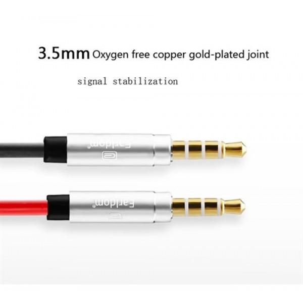 کابل انتقال صدا ارلدوم Earldom ET-AUX18 Audio Cable به طول 2 متر