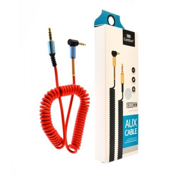 کابل انتقال صدا ارلدوم Earldom ET-AUX23 Audio Cable به طول 1.8 متر