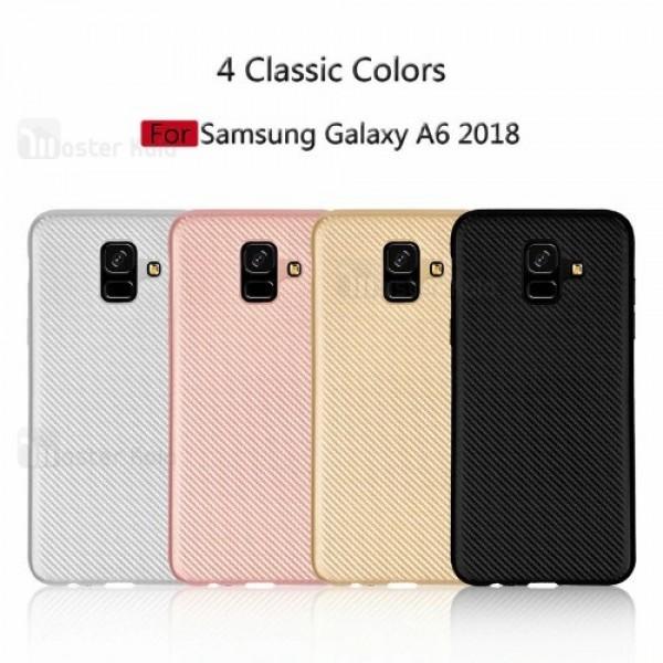 کاور فیبر کربنی Haimen مناسب Samsung Galaxy A6 2018
