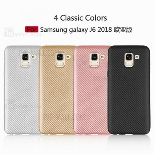 کاور فیبر کربنی Haimen مناسب Samsung Galaxy J6 2018 / J600