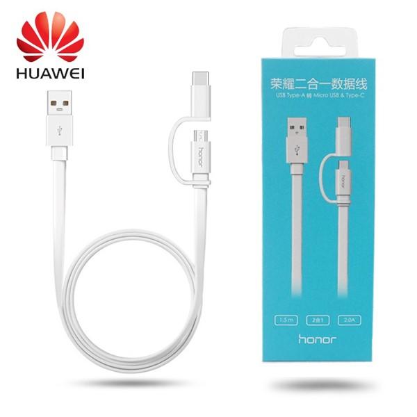 کابل اصلی دوکاره هواوی هانر Huawei honor AP55S به طول 1.5 متر