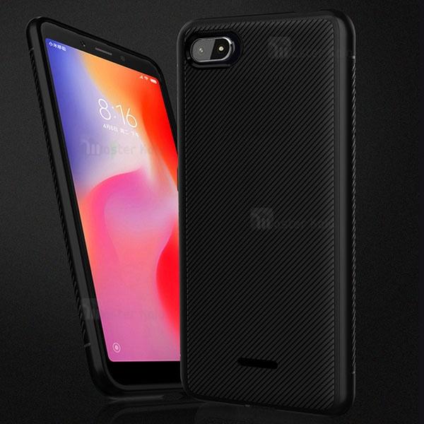 قاب ژله ای طرح فیبر کربنی Kugi مناسب Xiaomi Redmi 6a