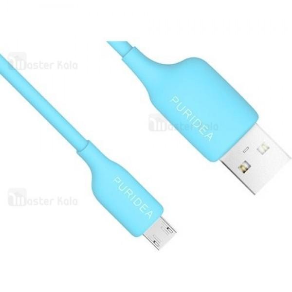 کابل میکرو یو اس بی 2.4 آمپر پوریدا Puridea L02 Bon Bon Data Cable