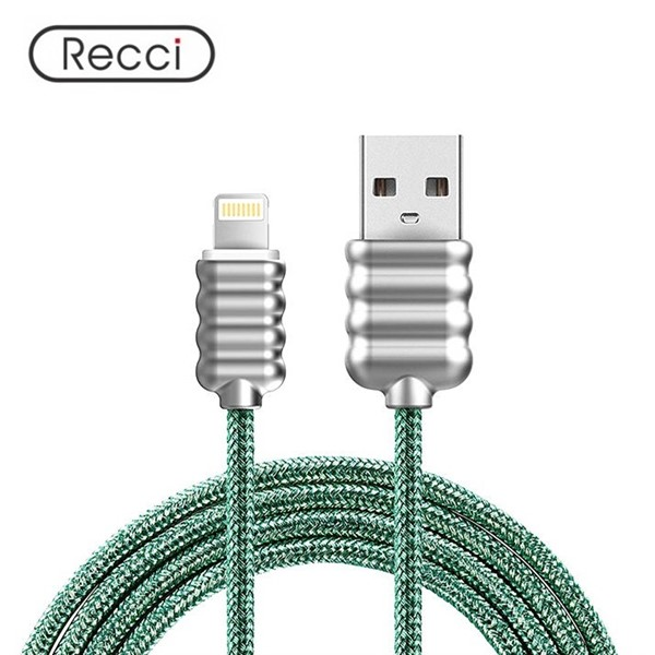 کابل لایتنینگ رسی Recci RCL-L100 Ripple Lightning Cable