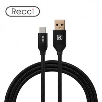 کابل Type C رسی Recci RCT-N120 Velocity Type-C Cable