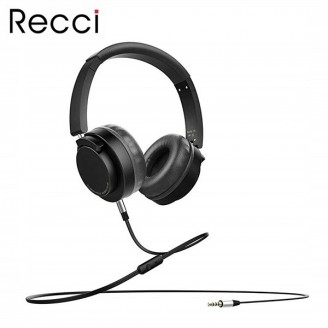 هدفون سیم دار رسی Recci REH-A02 Morzart Wired Headphone