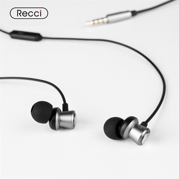 هندزفری سیمی رسی Recci REW-A01 Melody IN-Ear Metal Design