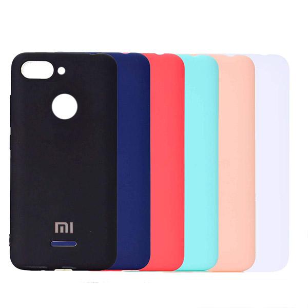 قاب سیلیکونی مناسب Xiaomi Redmi 6 Silicone Case