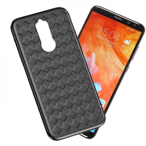 قاب طرح چرم و حصیری W.S Weaving مناسب Huawei Mate 10 Lite / Nova 2i
