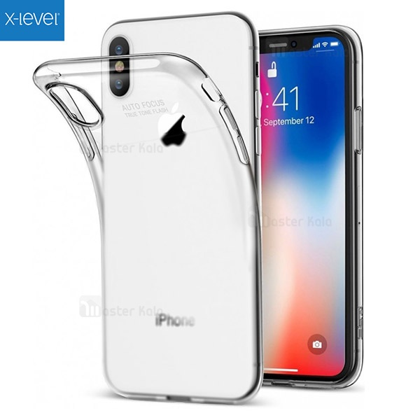 گارد ژله ای X-Level Anti Slip Auto Focus مناسب Apple iPhone XS Max