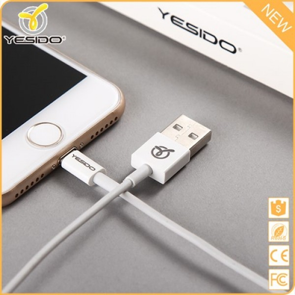 کابل شارژ 3 متری لایتنینگ یسیدو Yesido Transmit And Charge Cable