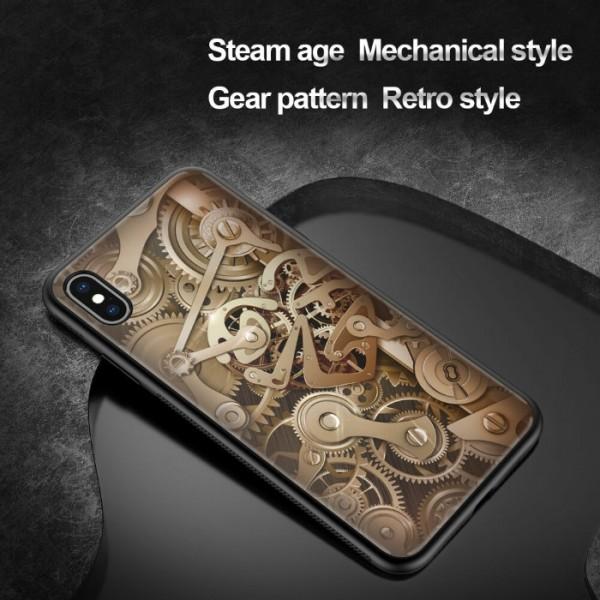 کاور محافظ نیلکین مدل Gear مناسب Apple iPhone XS Max با طرح سه بعدی