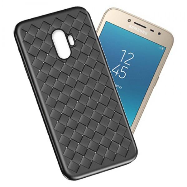 قاب طرح چرم و حصیری W.S Weaving مناسب Samsung Galaxy A8 2018 / A530F