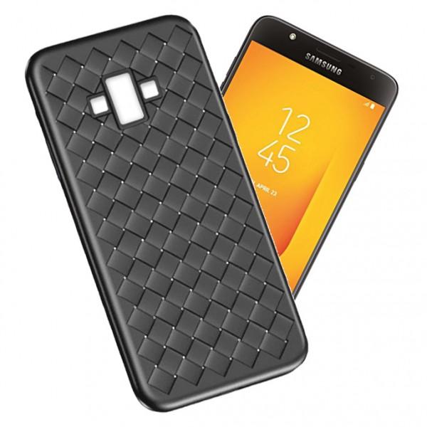 قاب طرح چرم و حصیری W.S Weaving مناسب Samsung Galaxy J7 Duo