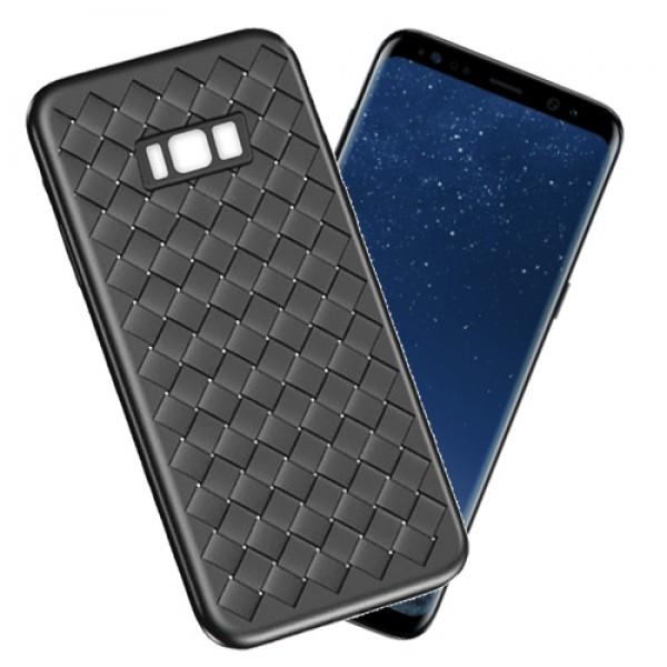 قاب طرح چرم و حصیری W.S Weaving مناسب Samsung Galaxy S8 Plus