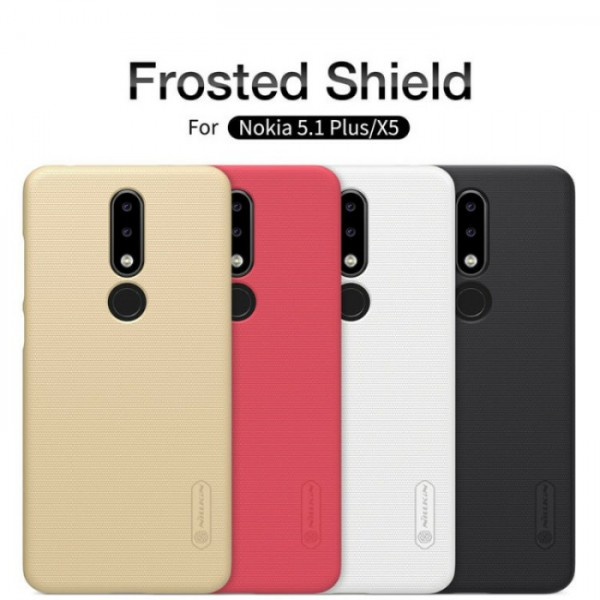 کاور محافظ نیلکین Frosted Shield مناسب Nokia 5.1 Plus / X5