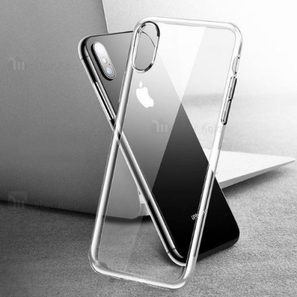 قاب ژله ای پشت کریستالی TT مناسب Apple iPhone XS Max