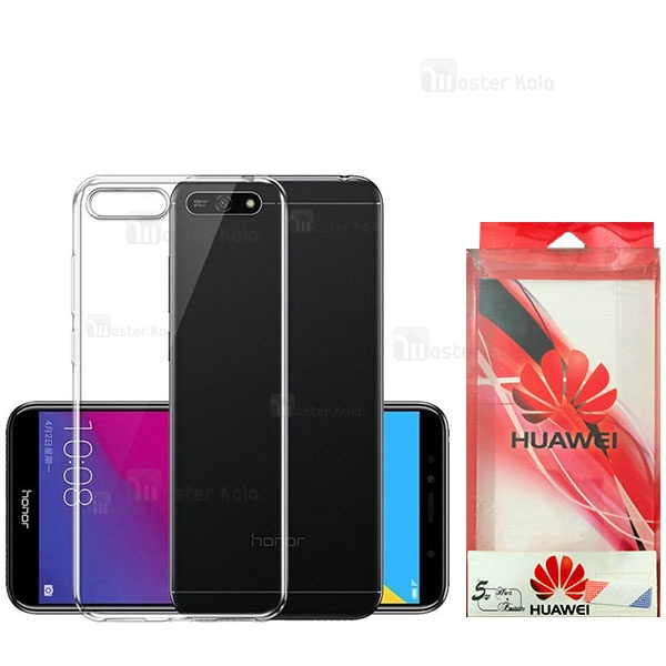 قاب ژله ای پشت کریستالی TT مناسب Huawei Y6 2018 / Honor 7A
