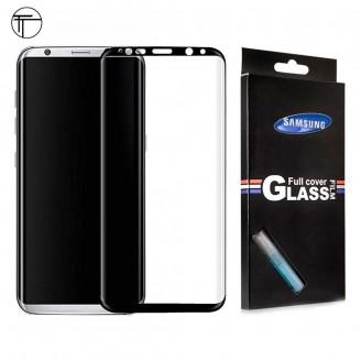 محافظ شیشه ای تمام صفحه و خمیده تمام چسب TT سامسونگ Samsung Galaxy S8
