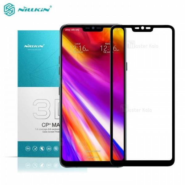 محافظ صفحه نمایش شیشه ای تمام صفحه نیلکین LG G7 ThinQ Nillkin CP+ Max