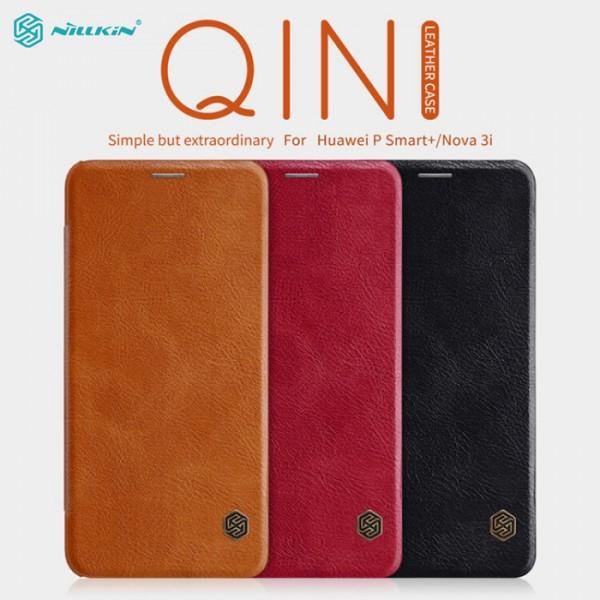 کیف چرمی نیلکین مدل Qin مناسب Huawei Nova 3i / P Smart Plus
