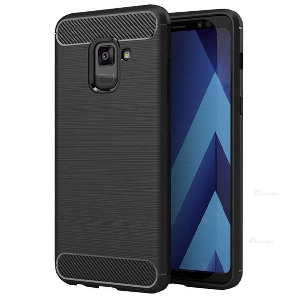 قاب فیبر کربنی Rugged Armor مناسب Samsung Galaxy A8 Plus 2018 / A730F