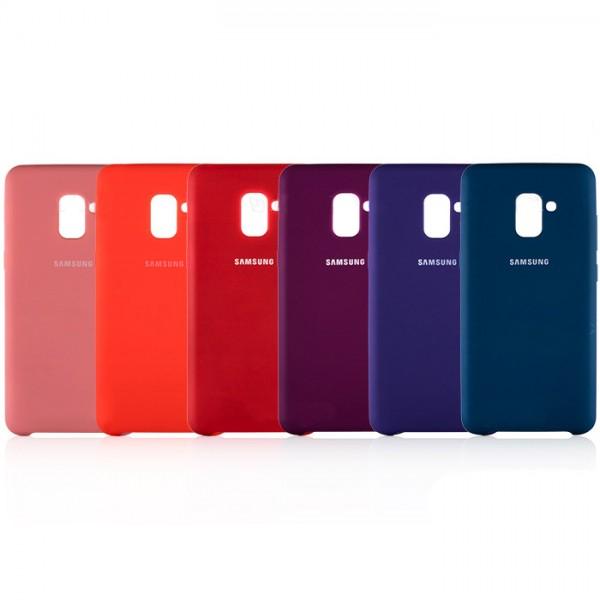 قاب سیلیکونی مناسب Samsung Galaxy A8 Plus 2018 / A730F