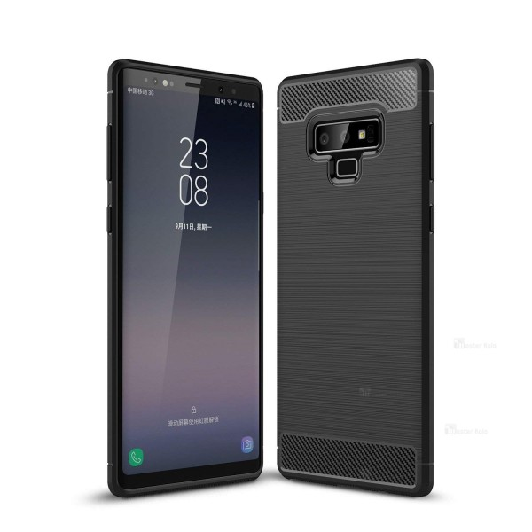 قاب محافظ ژله ای سامسونگ Samsung Galaxy Note 9 Fiber Carbon Rugged Armor
