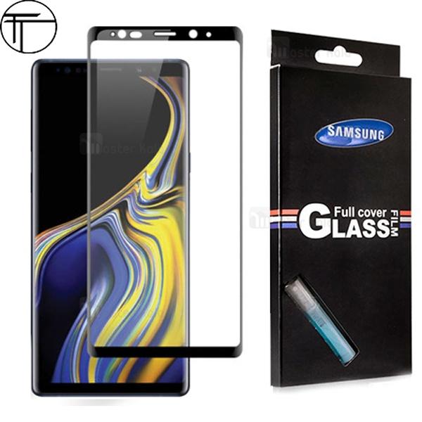 محافظ صفحه نمایش شیشه ای تمام صفحه و خمیده TT تمام چسب Samsung Galaxy Note 9