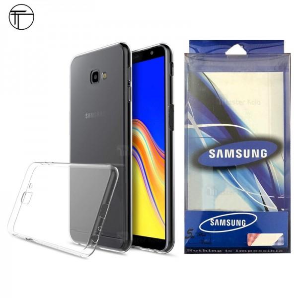 قاب ژله ای پشت کریستالی TT مناسب Samsung Galaxy J4 Plus 2018