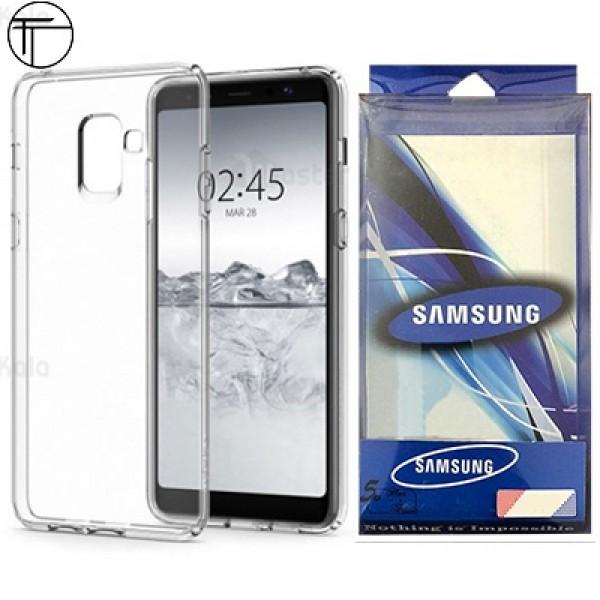 قاب ژله ای پشت کریستالی TT مناسب Samsung Galaxy J6 2018 / J600F