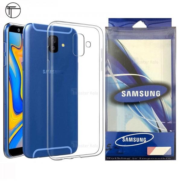 قاب ژله ای پشت کریستالی TT مناسب Samsung Galaxy J6 Plus 2018