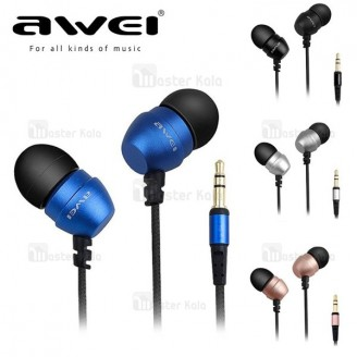 هندزفری سیمی AWEI ES-Q8 IN-Ear Headphones