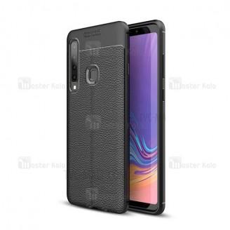 قاب محافظ ژله ای طرح چرم Samsung Galaxy A9 2018 / A9s مدل Auto Focus