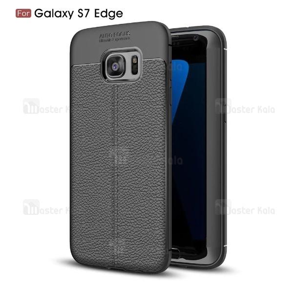 قاب محافظ ژله ای طرح چرم Samsung Galaxy S7 Edge / G935 مدل Auto Focus