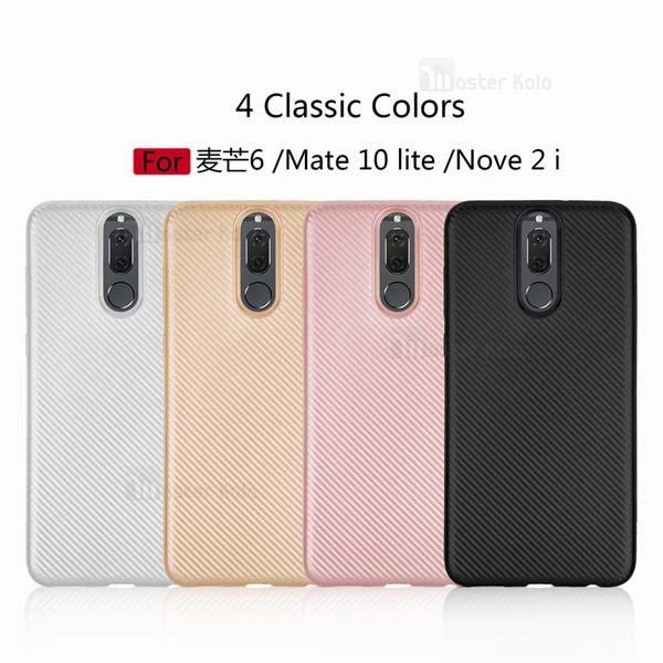 کاور فیبر کربنی Haimen مناسب Huawei Mate 10 Lite / Nova 2i
