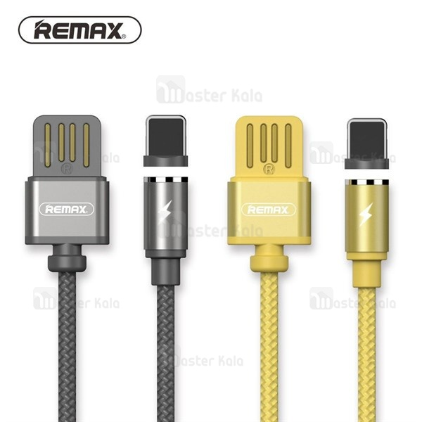 کابل مگنتی لایتنینگ 1.0 آمپری ریمکس Remax RC-095i Magnetic Cable