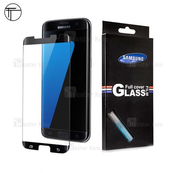 محافظ صفحه نمایش شیشه ای تمام صفحه و خمیده TT تمام چسب Samsung Galaxy S7 Edge