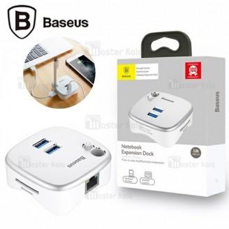 هاب شارژر و داک انتقال اطلاعات بیسوس Baseus HR35 Notebook Expansion Dock