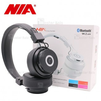 هدفون بلوتوث نیا NIA X6 Wireless Headphones با اپلیکیشن