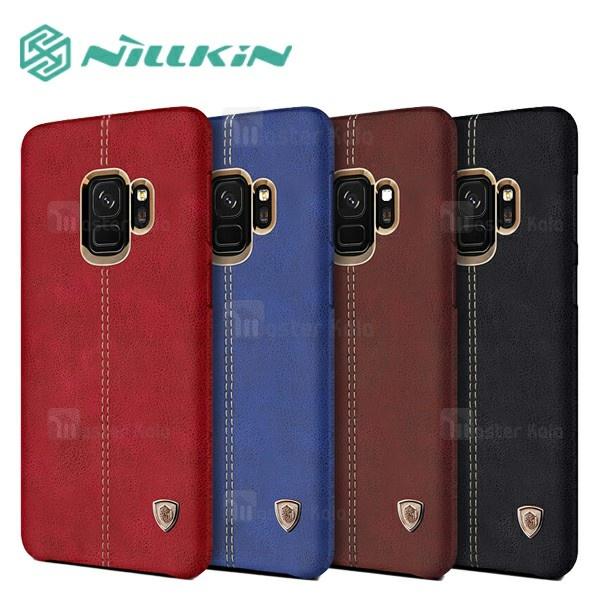 کاور محافظ چرمی نیلکین مدل Englon مناسب Samsung Galaxy S9