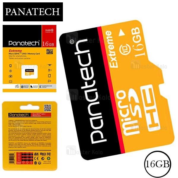 کارت حافظه میکرو اس دی 16 گیگابایت پاناتک Panatech 16G C10 U1 30MBps