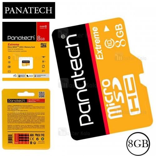 کارت حافظه میکرو اس دی 8 گیگابایت پاناتک Panatech 8G C10 U1 30MBps