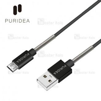 کابل میکرو یو اس بی پوریدا Puridea L18 Premium Cable توان 2.4 آمپر