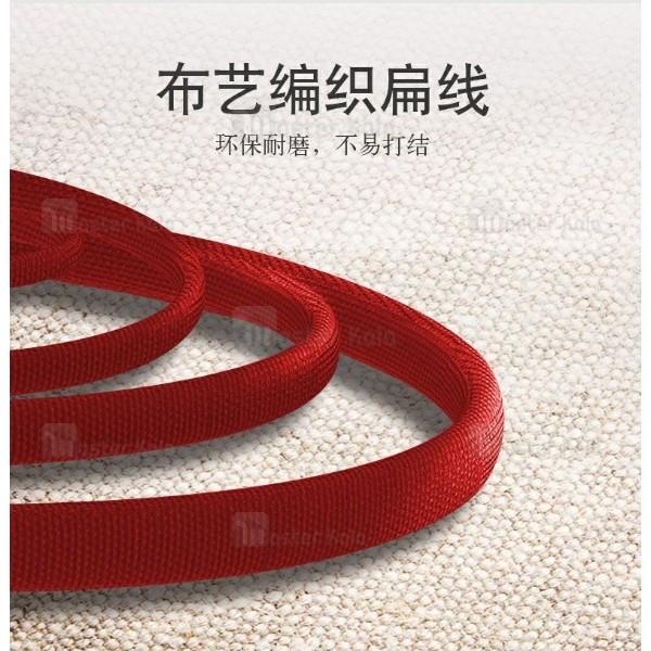 کابل فلت Type C یسیدو yesido CA-15 do durable توان 2.4 آمپر